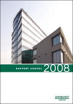Cover rapport annuel 2008