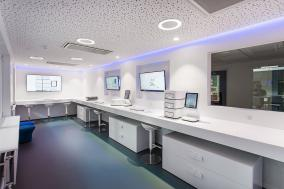 Biocartis, showroom design