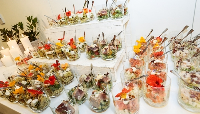 Catering at the event