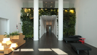 Entrance hall Mechelen Campus T