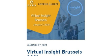 EPRA virtual insight Brussels